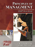 Ebook cover: Principles of Management CLEP test