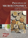 Ebook cover: Principles of Microeconmics CLEP test