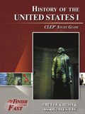 Ebook cover: History of the United States I CLEP test