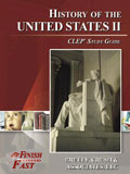 Ebook cover: History of the United States II CLEP test